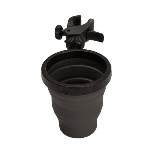 Full view of attachable cupholder